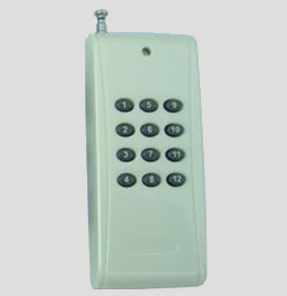 Wireless Remote Control Units RF Transmitter Remote Control 12 button 12 roads